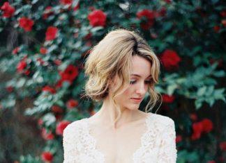 glam wedding dress