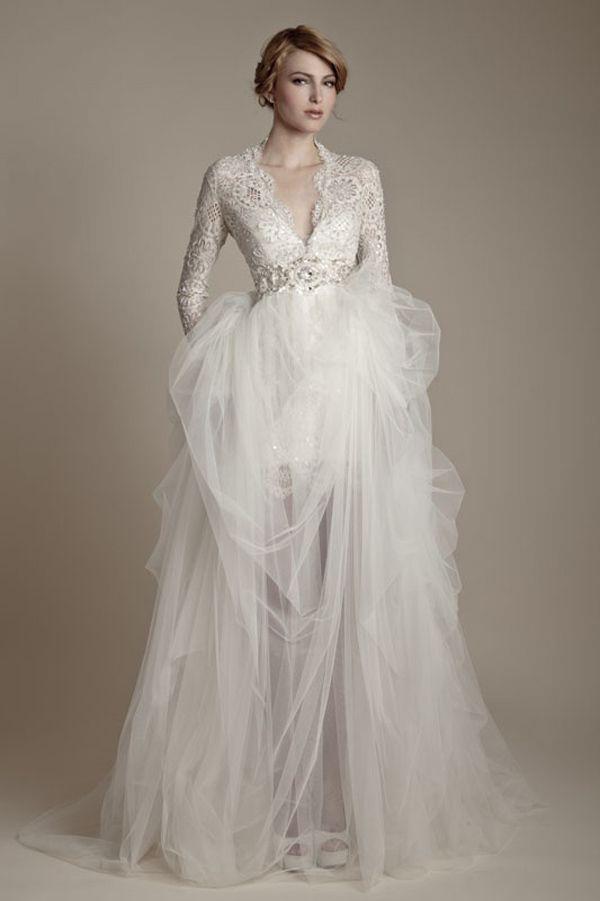 perfect white wedding ball dress