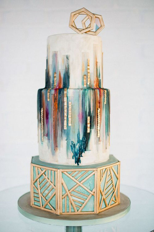 unique amazing wedding cake