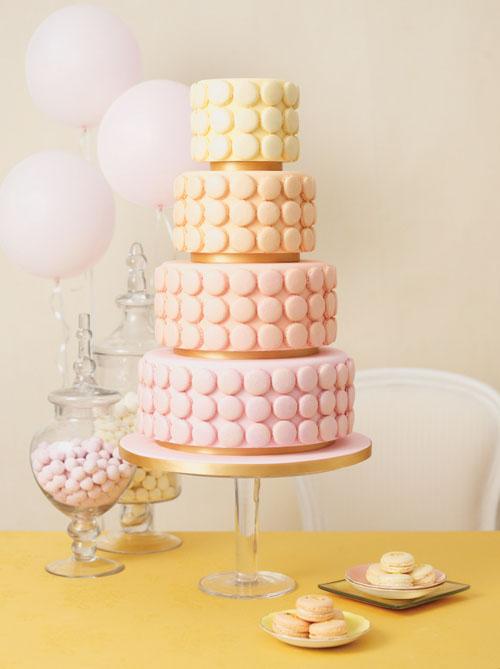 adorable wedding cake model