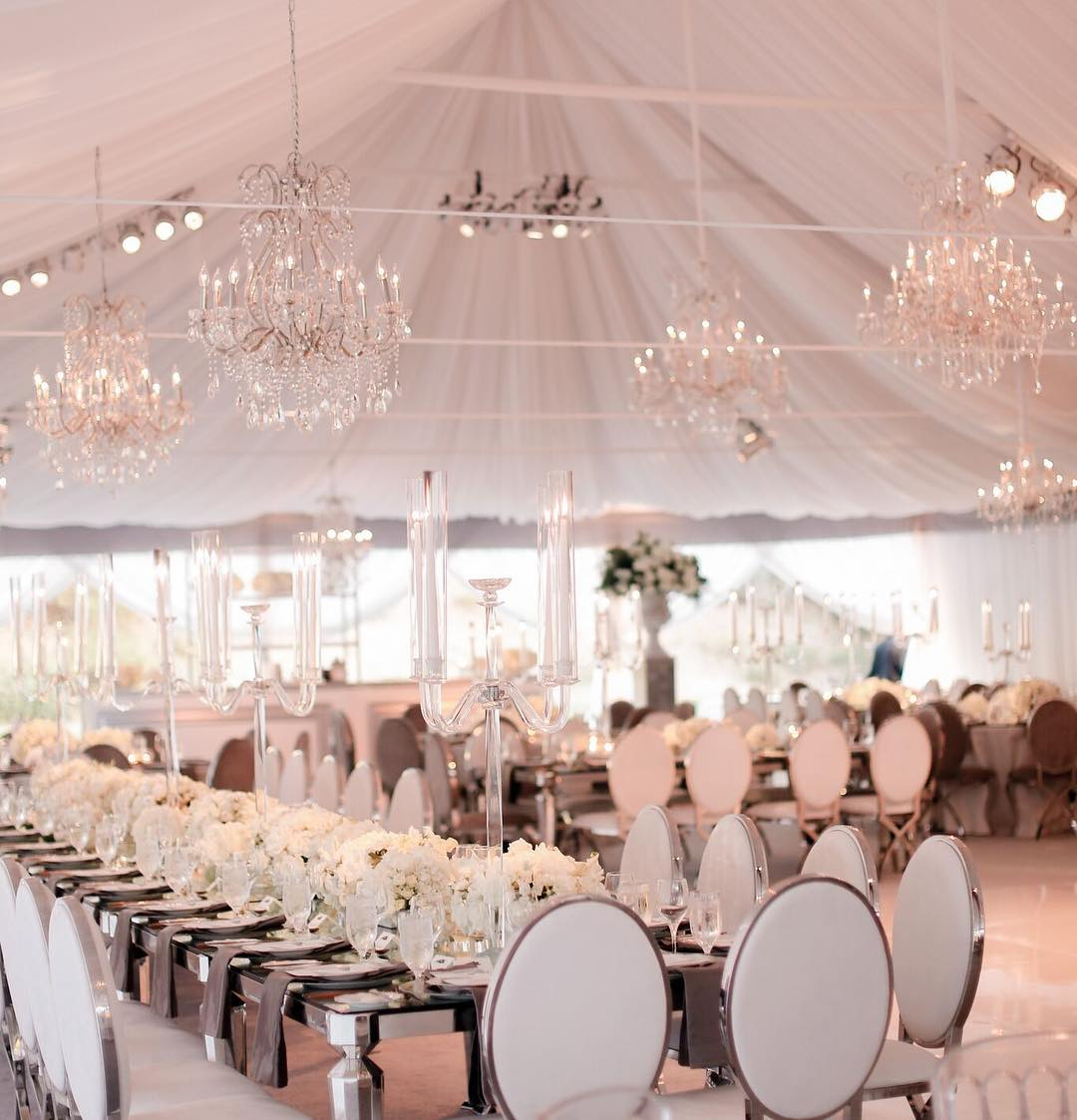 outstanding white wedding concept