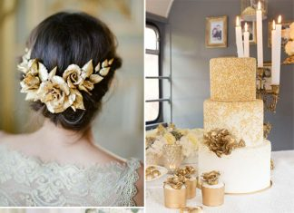 gold wedding color