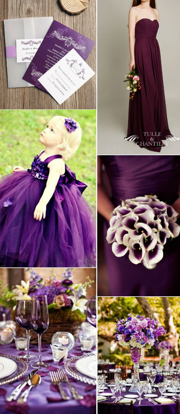 Glamorous Purple Wedding Themes Ideas With Elegant And Beautiful Outlook