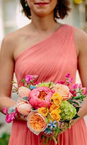 gorgeous wedding summer bouquet