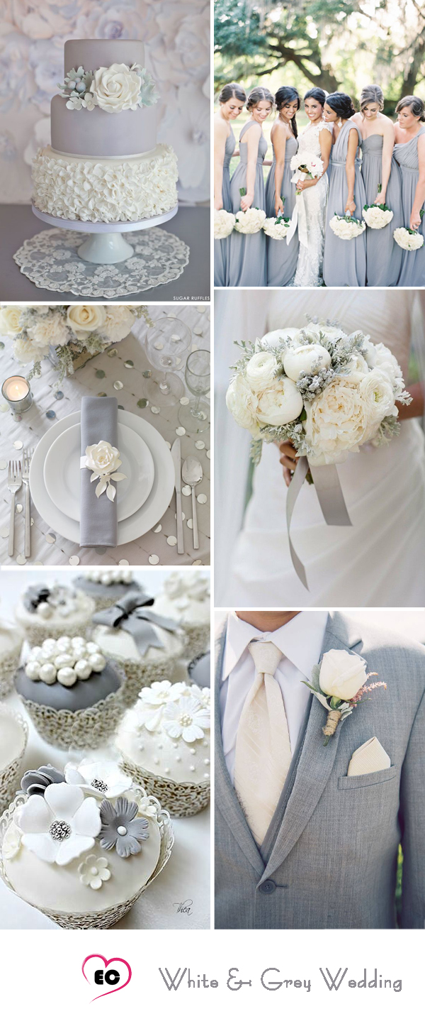 Gray Color Wedding Inspirations Showing Beautifulness To Your ...