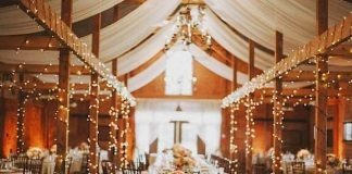 charming vintage wedding decor
