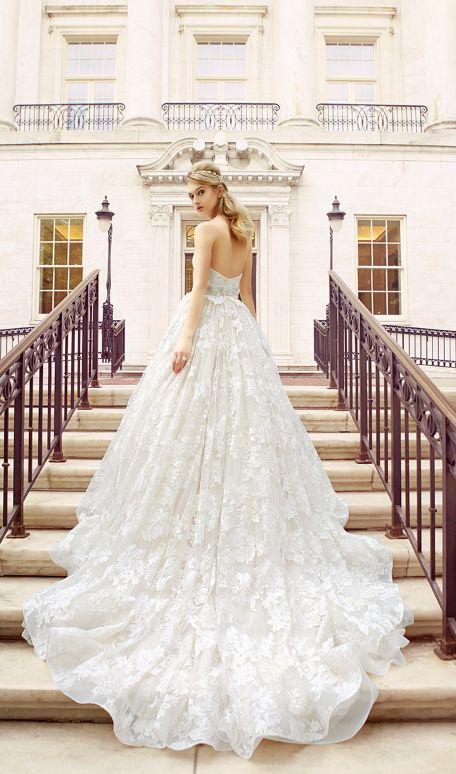 waist ballgown wedding dresses
