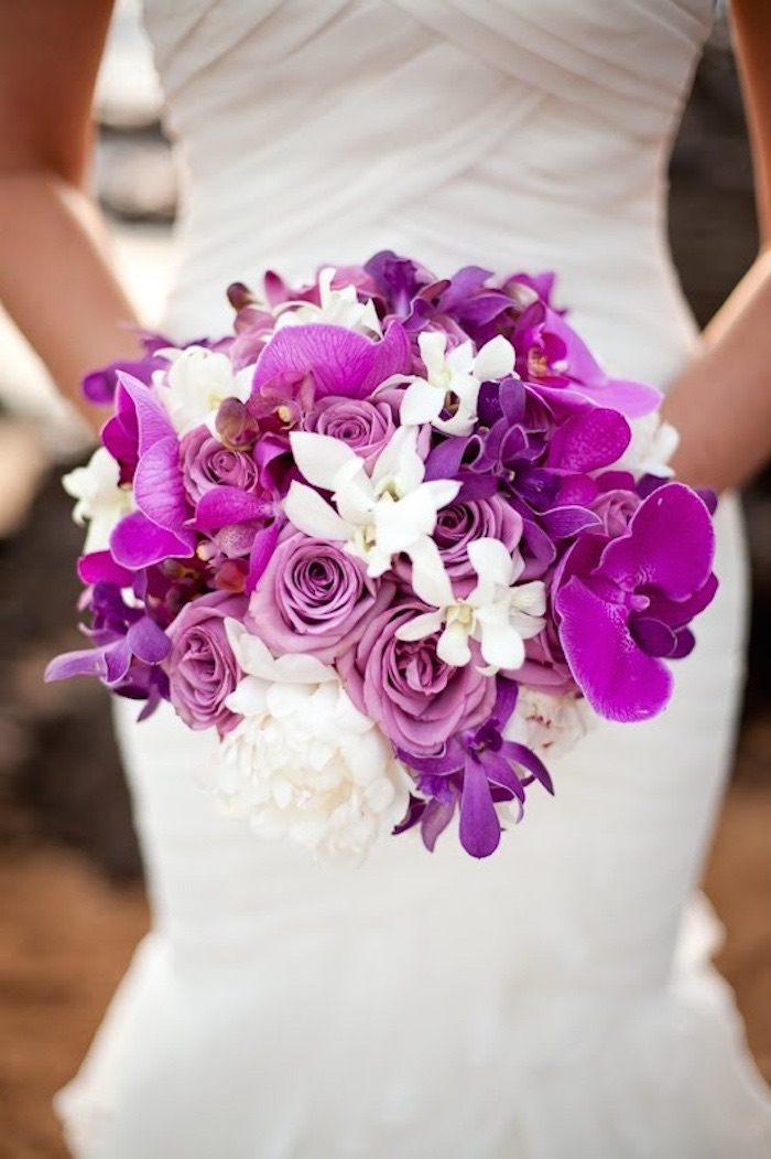 Loveliest Orchids Wedding Bouquets Looks Fresh and Majestic Which ...