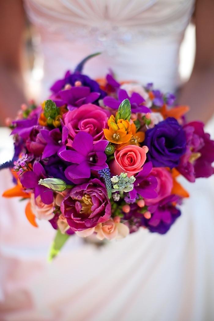 gorgeous orchids bouquet