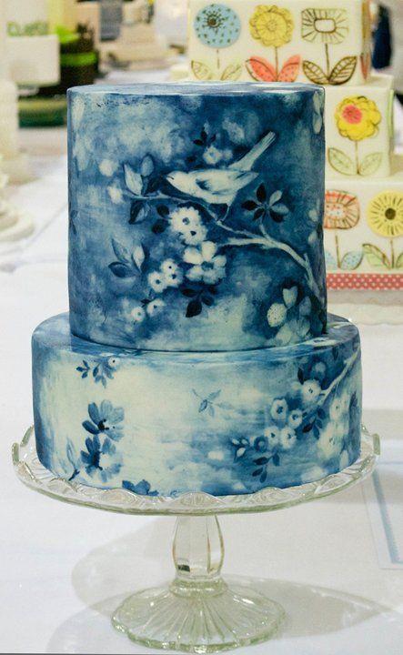gorgeous wedding cake design