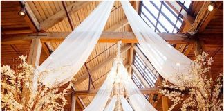stunning rustic wedding barn design