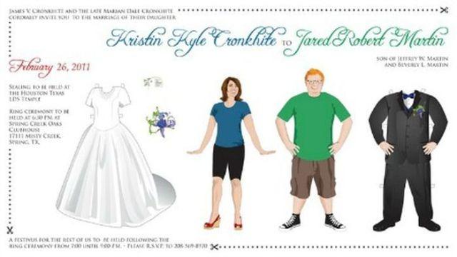 funny wedding invitation