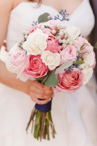 chic flower wedding bouquet