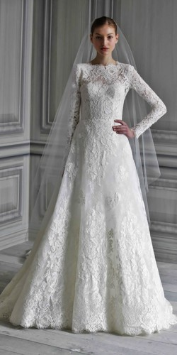 white long sleeved wedding dress