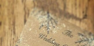 elegant winter wedding invitations ideas