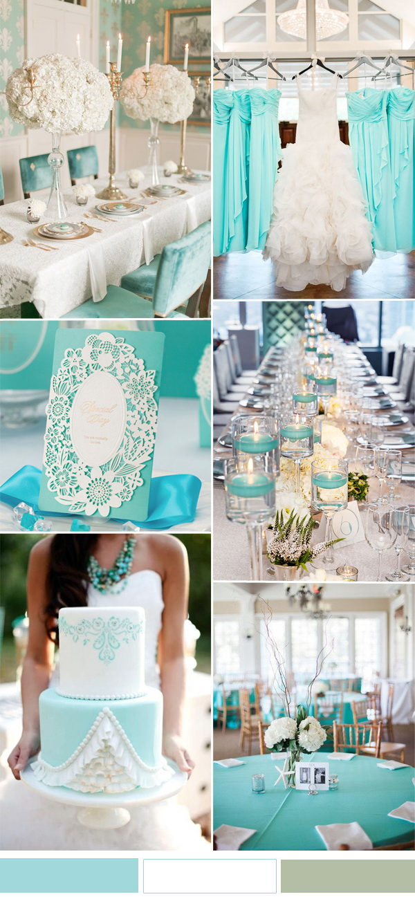 white-and-aqua-wedding-color-combo-for-spring-summer-wedding