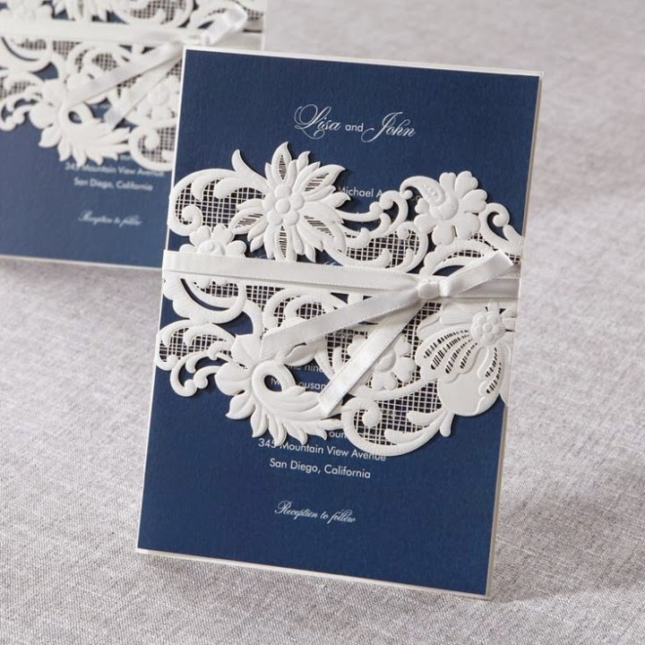 white-and-navy-blue-wedding-invitation-cards
