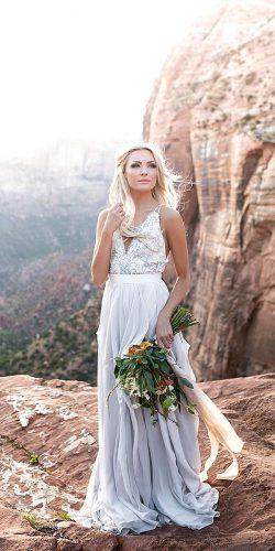 beautiful rustic wedding dress