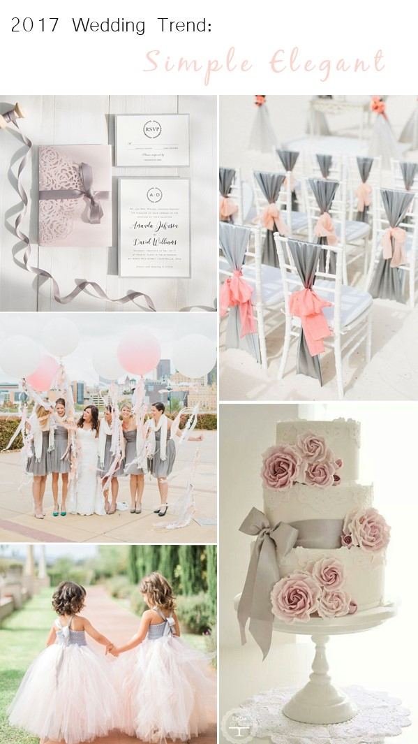 simple elegant wedding themes