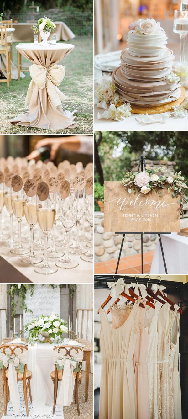 Vintage Wedding Themes Ideas With a Neutral Color Scheme ...