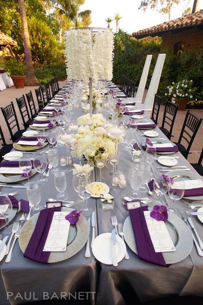 Elegance Purple Wedding Ideas With Decoration Details Looks So Awful