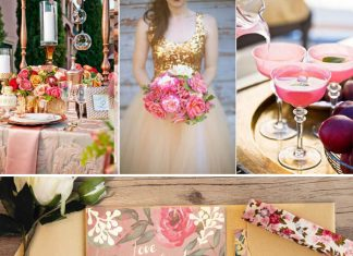 gorgeous wedding color themes