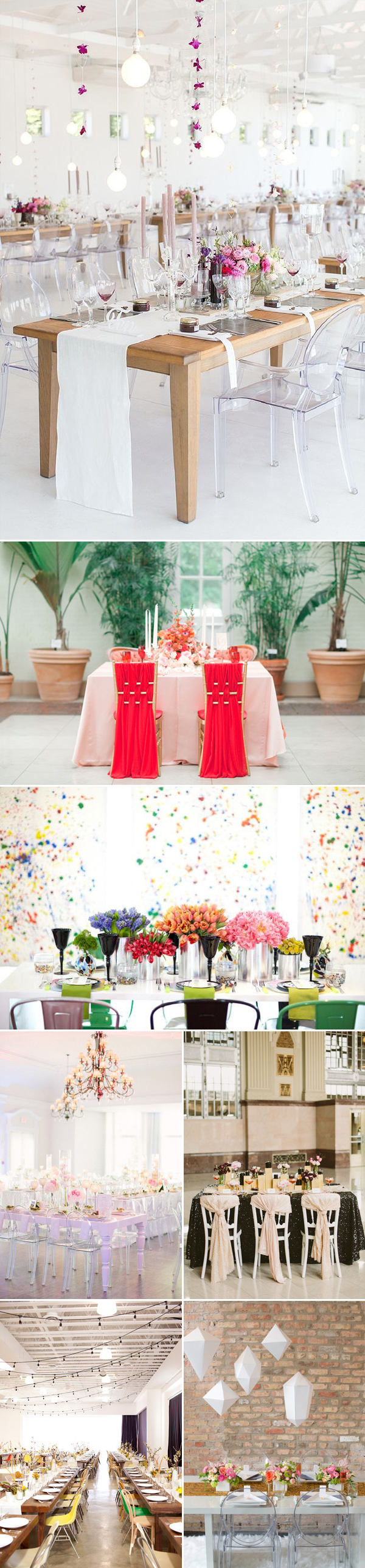 contemporary wedding ideas