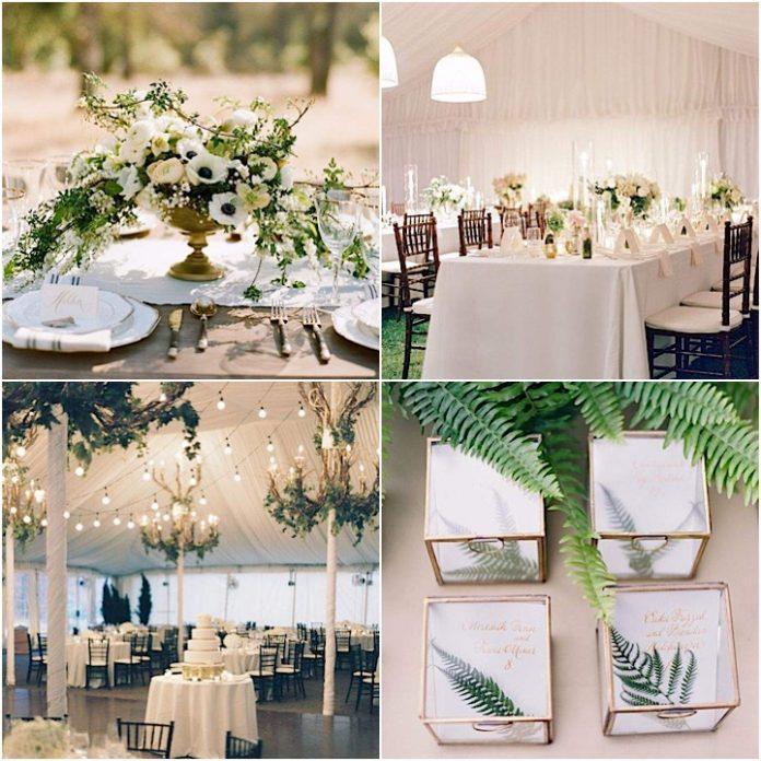 elegance rustic wedding theme