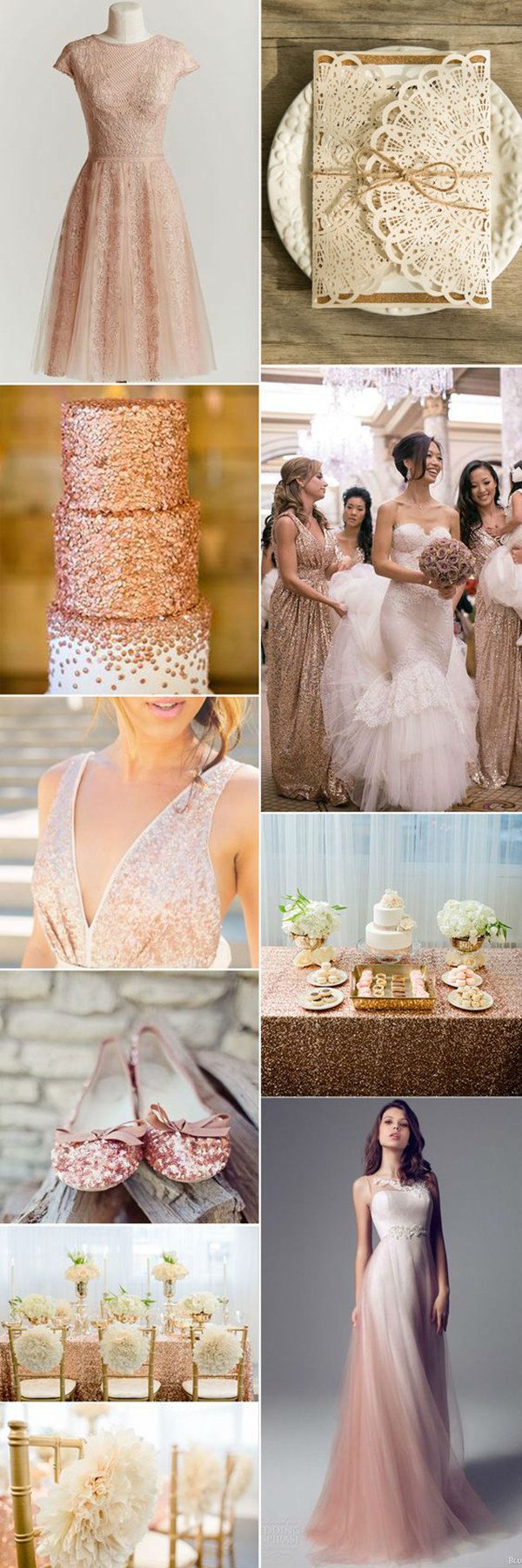 eye-catching-glitter-gold spring wedding-ideas