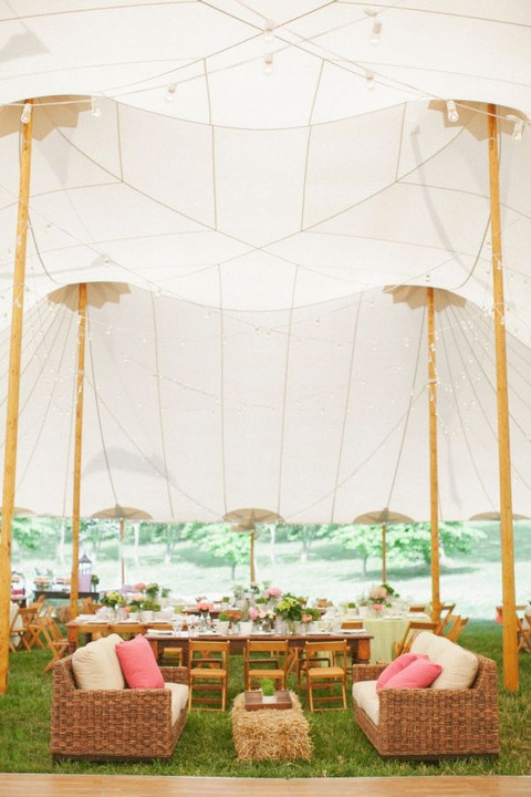 awesome wedding tent design