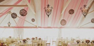 beautiful vintage wedding decor
