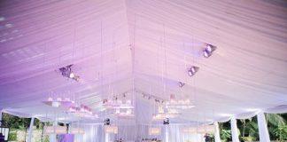 wedding tent decor inspirations