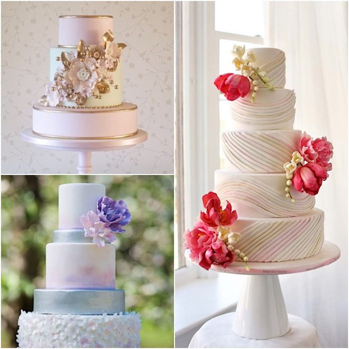charming wedding cakes designs
