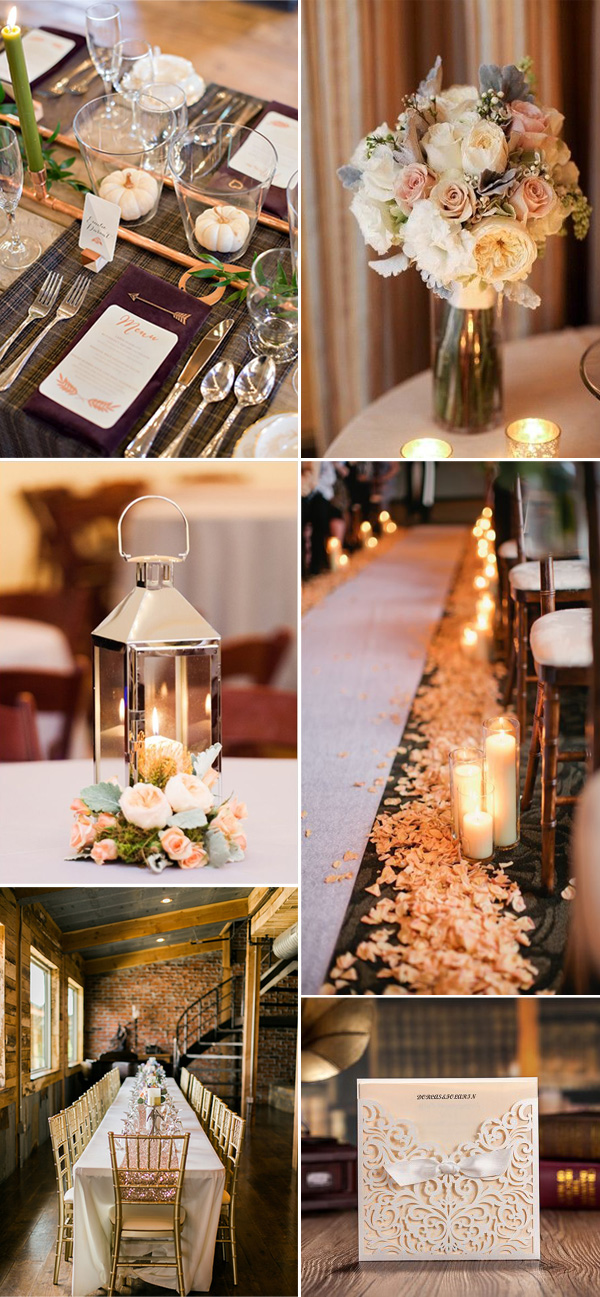 neutral-metallic-wedding-ideas