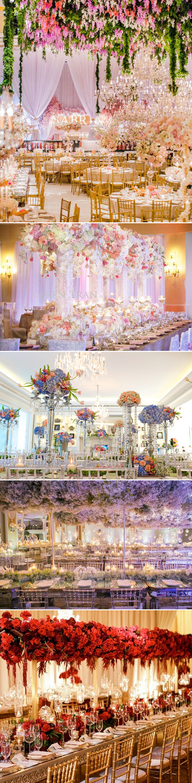 stunning wedding color decor