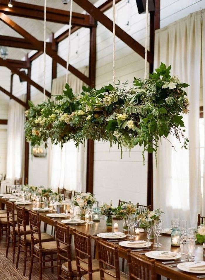 rustic wedding table reception