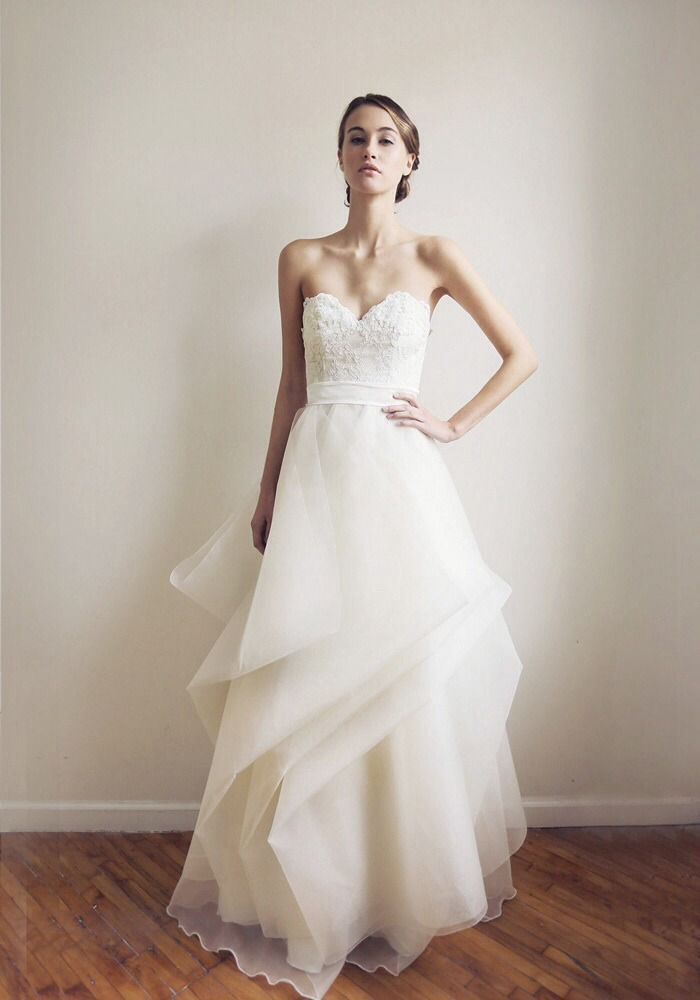 simple classic wedding dress