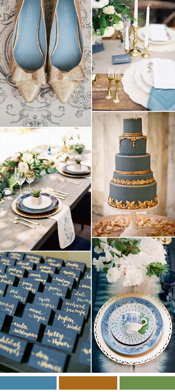 spring-summer-wedding-Niagara-blue-and-gold-wedding-color-idea