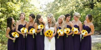 spring wedding color themes