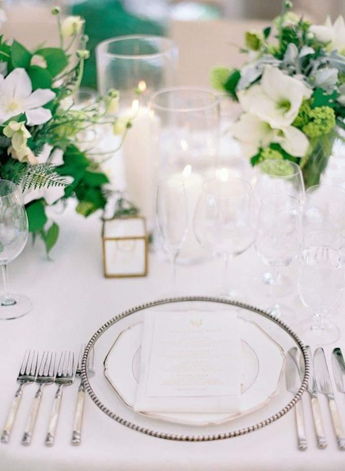 table set rustic wedding details