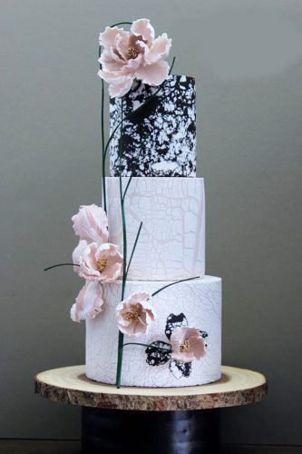 trendy wedding cakes