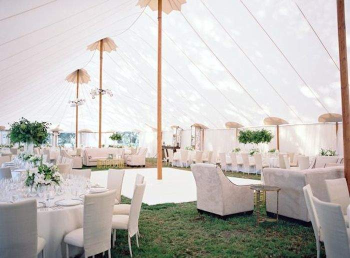 white rusic elegance wedding