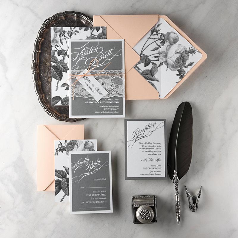 Creative And Attractive Handmade Wedding Invitation Cards Roowedding