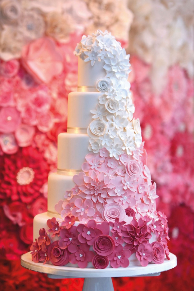charming wedding cakes ideas