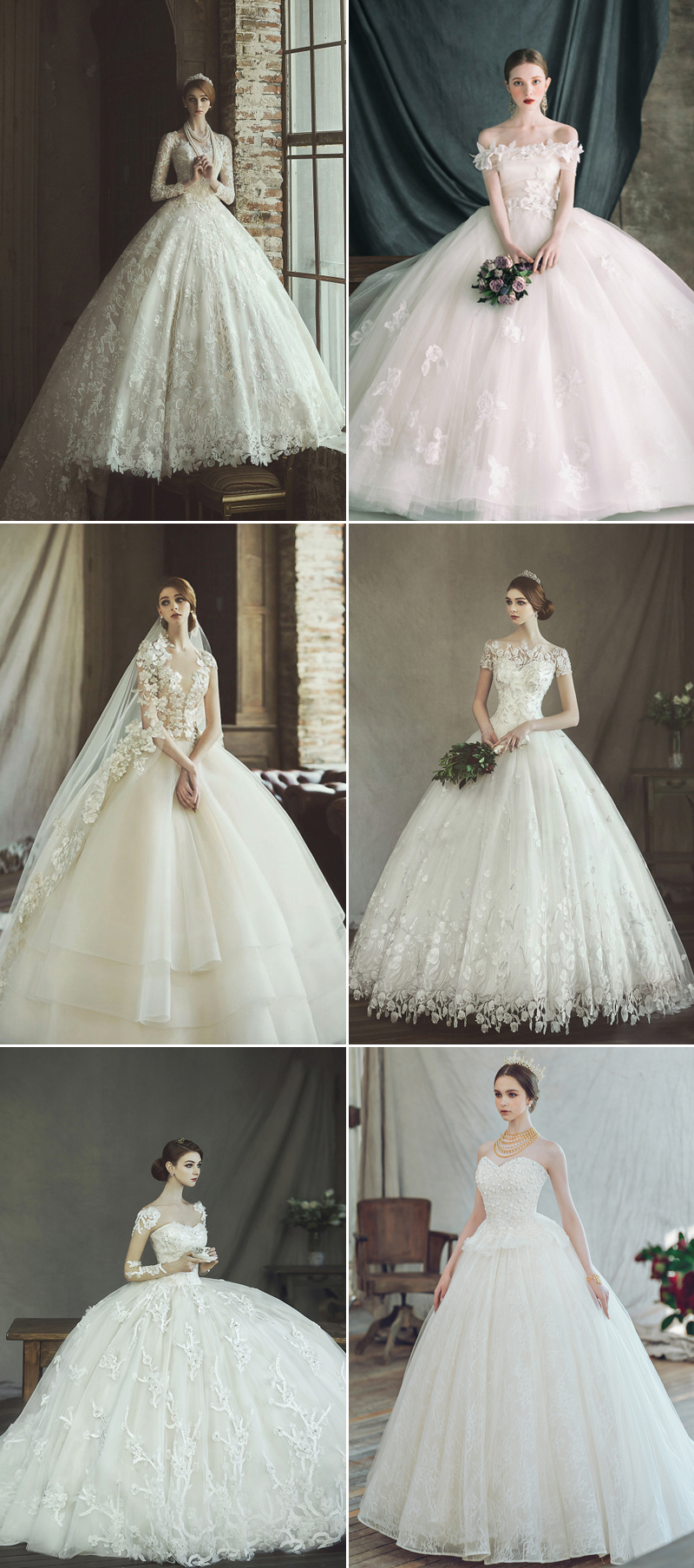 clara wedding dress with a waist ball design