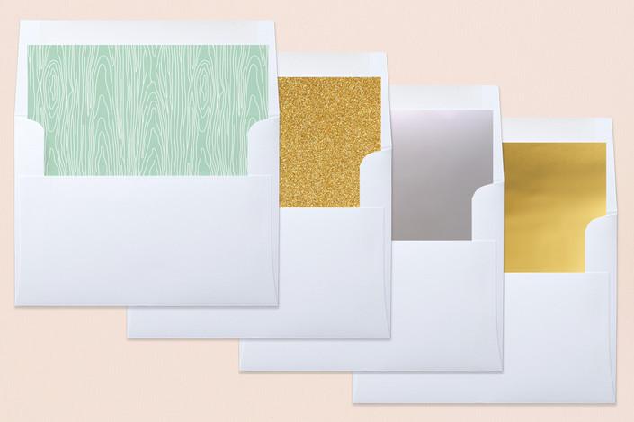 envelope design with soft color