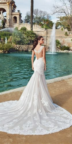 Gorgeous Mermaid Wedding Dresses : Gorgeous mermaid wedding dresses with white color showing