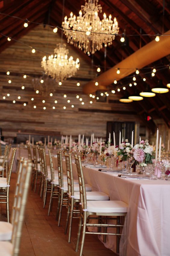 graceful vintage wedding decor