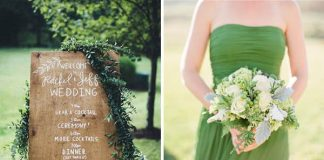 greenery wedding concept ideas