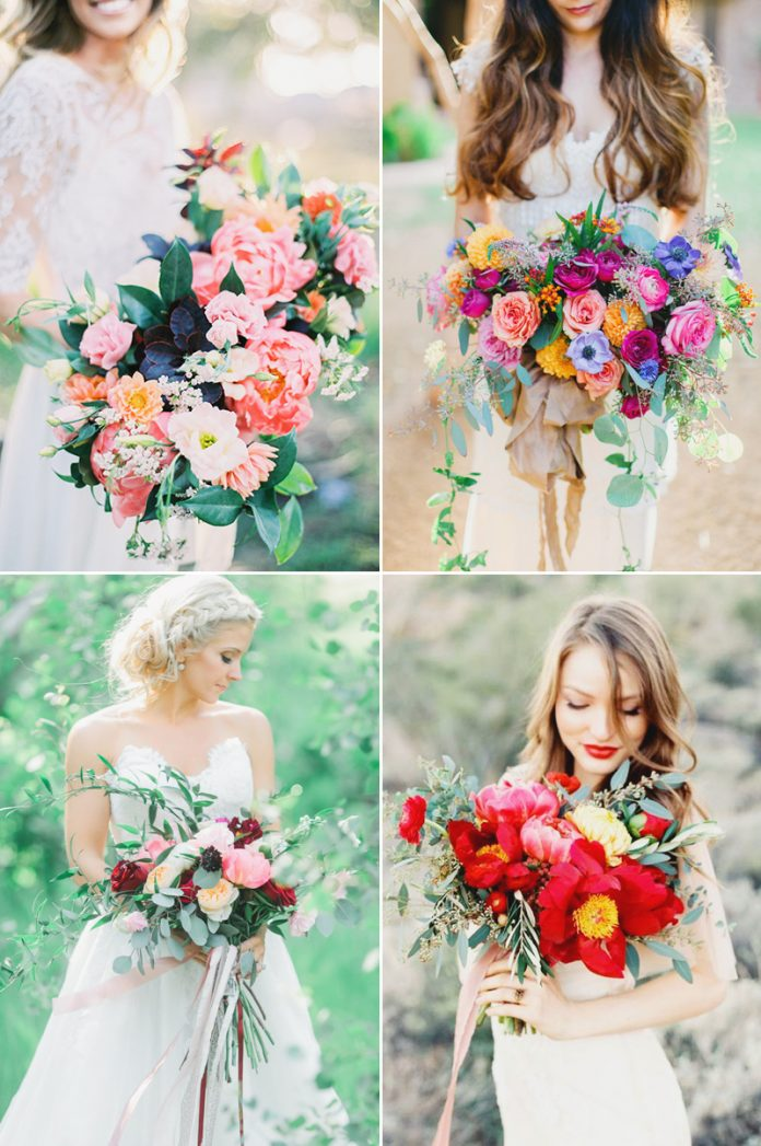 romantic wedding bouquet ideas
